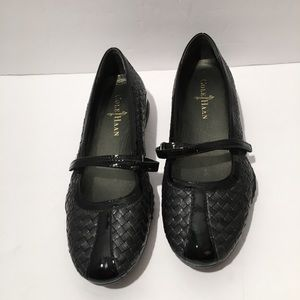 Cole Haan Nike Air Slip On Black Shoes Size 8